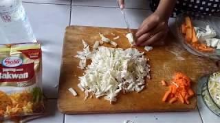 cara membuat bakwan sayur