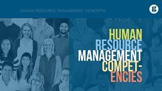 Human Resource Management Competencies
