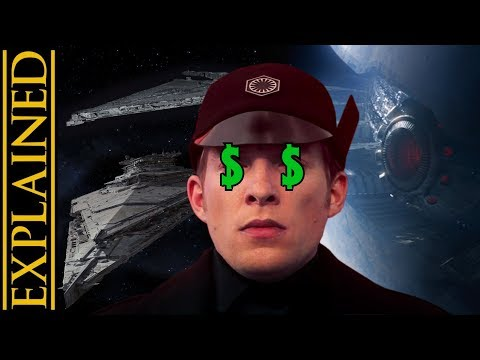How Does the First Order Pay for Their Ships and Military?