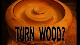 Woodturning Cherry Wood Project! Cool Design