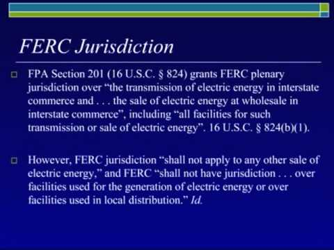 Introduction to Electric Power Regulation and Electricity Markets in the United States