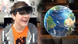 So funktionieren die Hologramme von Microsoft! (Hololens VR Brille) - felixba