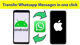 How to transfer whatsapp backup from iPhone to Android or versa, Android to Android