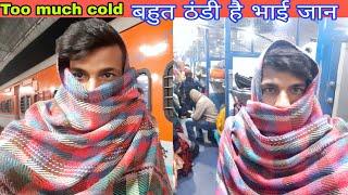 Thand Mai Rail Yatra   Kota to Delhi   Train Vlog