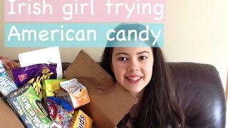 Irish girl trying american candy | simply zara