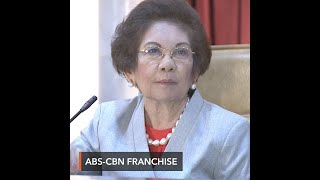 Ex-SC justice refutes DOJ: ABS-CBN needs franchise, not permit, after May 4