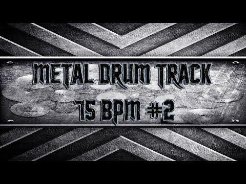 Southern Metal Drum Track 75 BPM HQ,HD