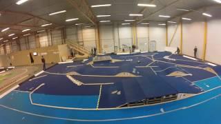 Traxxas Slash - full indoor carpet race