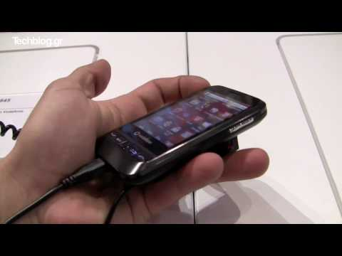 Vodafone 845 Android hands-on (Greek) iFA 2010