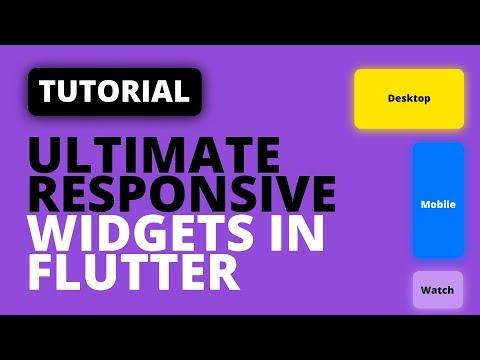 The Best Flutter Responsive UI Setup