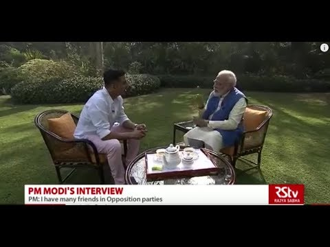 Akshay Kumar's interaction with PM Modi