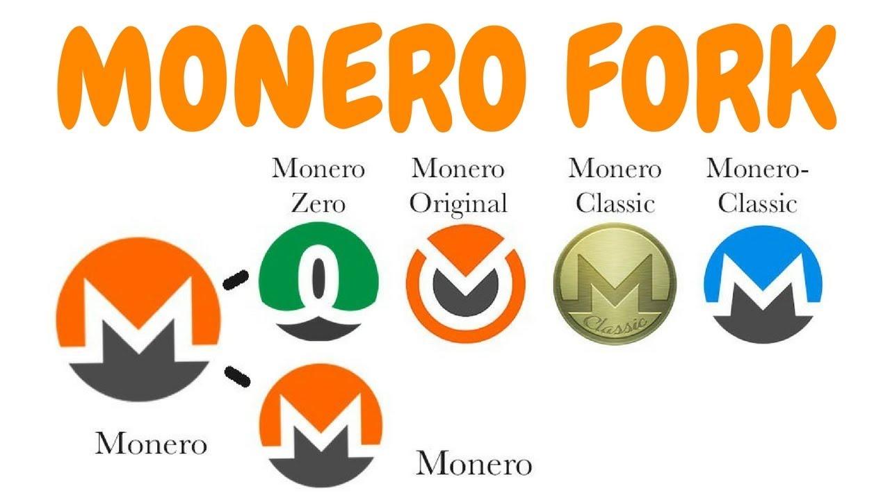 Monero Fork - Monero Classic, Monero Zero, Monero Original
