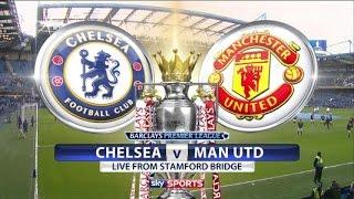 Funtastic || Chelsea vs Manchester United 4 -0 || Faster Goal Pedro ( Premier League )