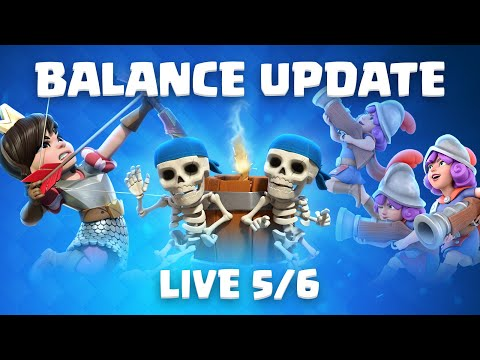 Clash Royale updates: All balance changes, patches, and new