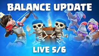 Clash Royale: NEW Balance Update! ⚖️ (May 6th)