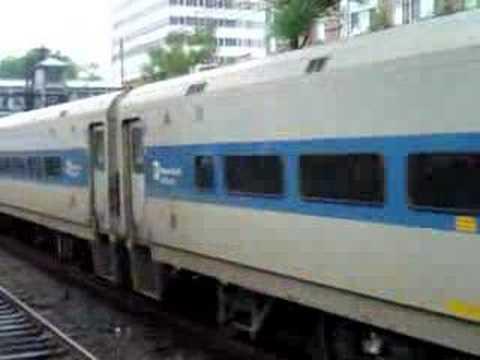 "MetroNorth ""Blue"" Harlem Line Train"