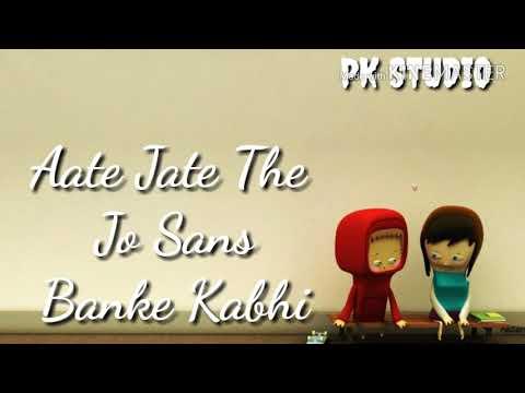 Love Whatsapp Status ||~ Aate jate the jo sans banke Kabhi || 2010