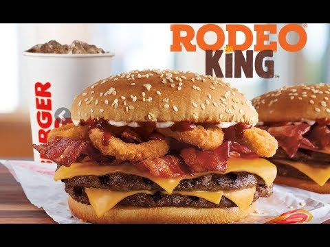 burger king 39 s new rodeo king burger review 116 youtube. Black Bedroom Furniture Sets. Home Design Ideas
