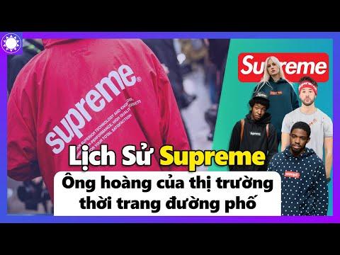 """Supreme – """"Ông Hoàng"""" Thời Trang Đường Phố Và Chiến Lược Kinh Doanh Không Đụng Hàng"""