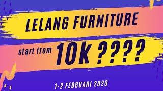Lelang Furniture Start From 10k #season2 @interio Bandung
