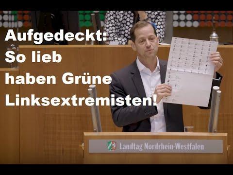 So lieb haben Grüne Linksextremisten! – Roger Beckamp AfD