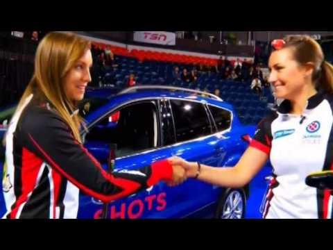 Rachel Homan wins the Ford Hot Shots 2017