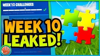 * LEAKED * SEASON 5 LAST WEEK!! MAKE PUZZLE COMPLETE!! -Fortnite: Battle Royale