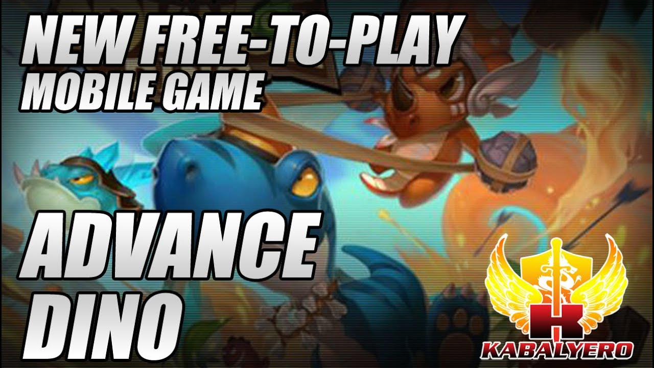Advance Dino, New Free-To-Play Mobile Game Of Prehistoric Proportions