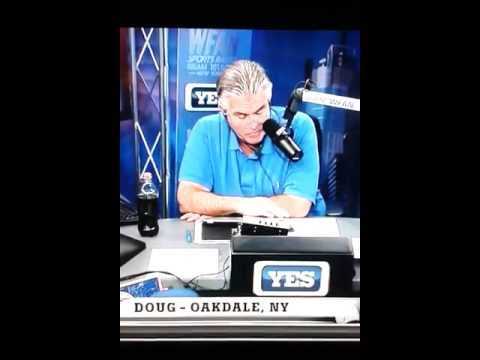 Mike francesa called a fool by rangers fan