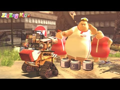 WALL·E | THE MOVIE Game Disney | Episode 17 THE END | ZigZag
