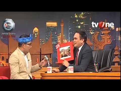 Tegas Mana? Simak Jawaban  Ridwan Kamil Vs Dedy Mizwar Cagub Jabar 2018