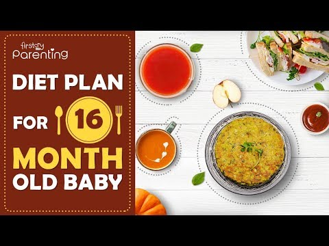 Diet Plan For 16 Month Old Baby