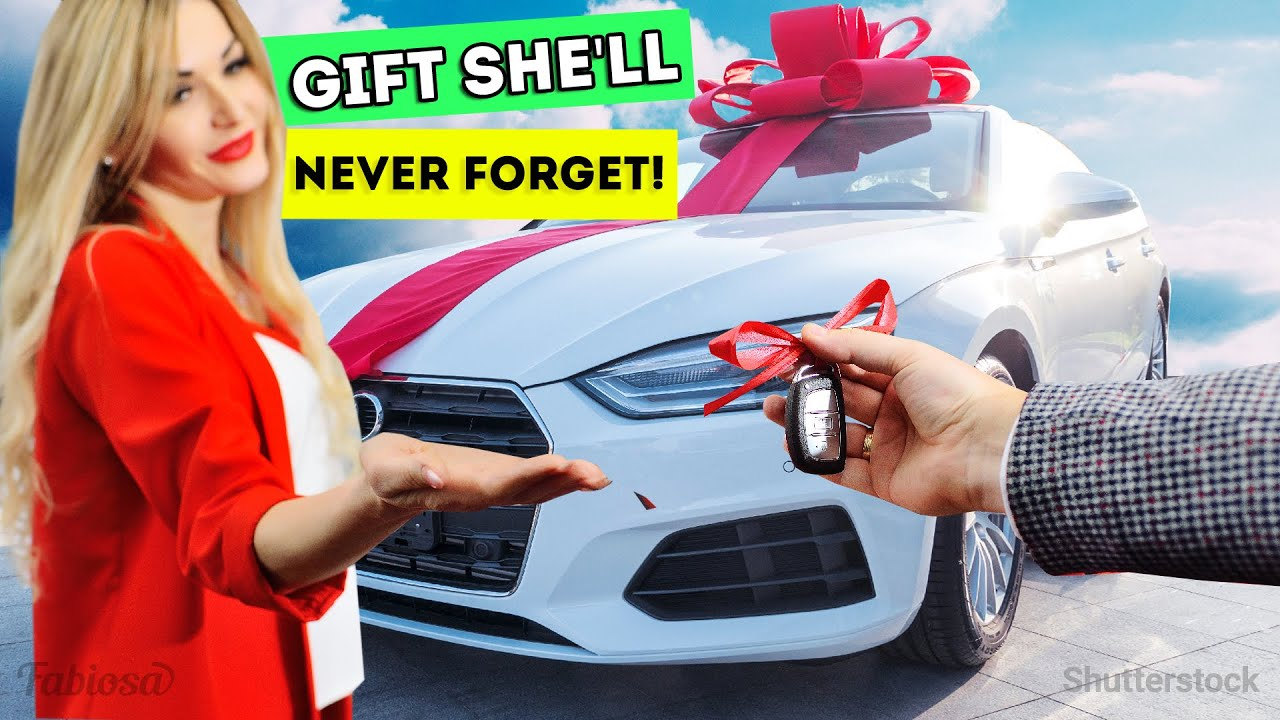 Shocking gift! He crashed his girl's car for special reason