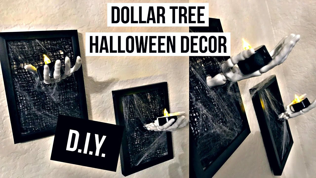 Dollar Tree Diy Easy Spooky Halloween Decor Frame