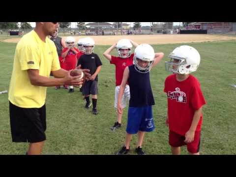 Dexter Youth Football Camp 2014 by DPR, BSN Sports, SEMO Electric Cooperative