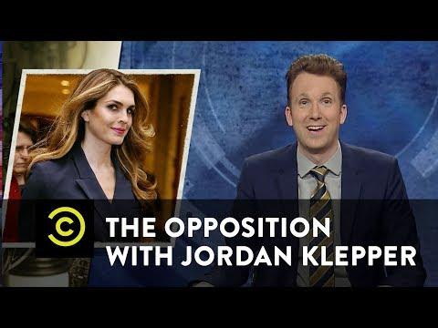 Simply the Best: Hope Hicks & Ben Carson's Chair - The Opposition w/ Jordan Klepper