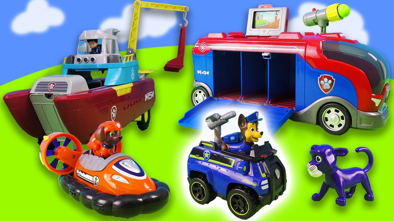 Chase rescues Marshall and the rest of the Paw Patrol   New Adventures of the Paw Patrol Mighty Pups