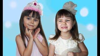 Принцессы в реальной жизни Желания исполняются Много шариков Видео для девочек
