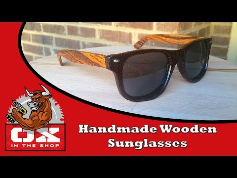 How to make WOODEN SUNGLASSES for cheap