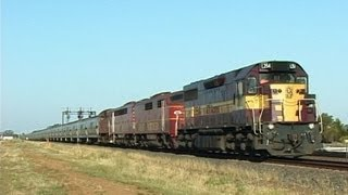 Australian Transport Network Grain Train: Australian Trains