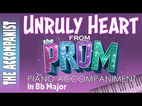 Unruly Heart - from the musical The Prom - Piano