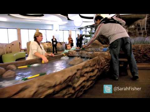 Sarah Fisher Photo Shoot - Behind The Scenes