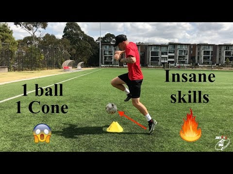 1 Ball | 1 Cone | INSANE SKILLS!! | Joner 1on1