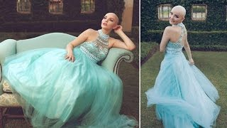 This 17-Year-Old Model Regained Her Confidence After Losing Hair To Cancer