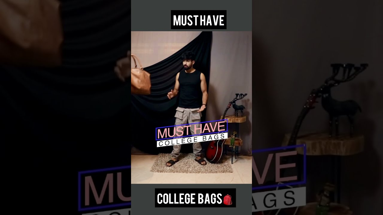 Must have COLLEGE BAGS #Shorts #bags