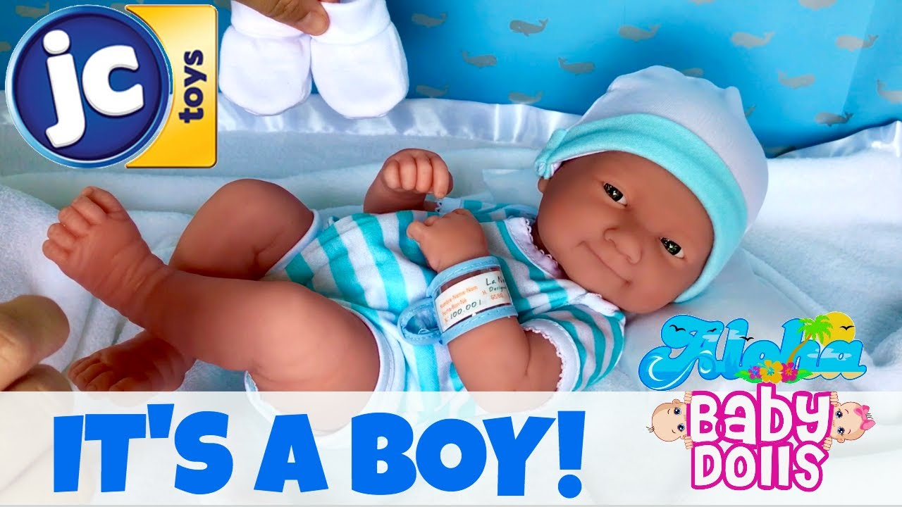 🍼 LA NEWBORN Baby BOY by JCToys! 👶🏻 Unboxing, Details & Changing ...