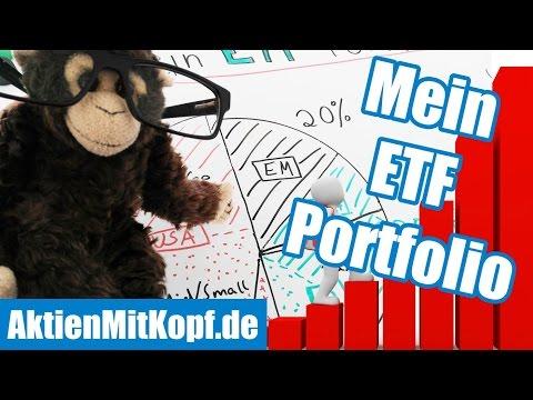 Mein ETF Portfolio - Diversifikation & Erklärung