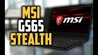 MSI GS65 Stealth Review - A Great Laptop With INSANE Specs!