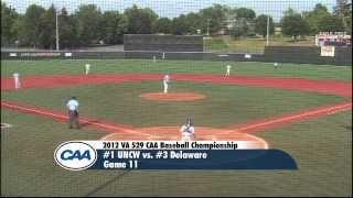 2012 va 529 caa baseball championship game 11 1 uncw 10 3 delaware 8