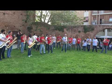 Dario Cecchini & Venezze RJD Street Band! Conservatorio Venezze Rovigo 13 maggio 2017